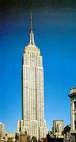 Эмпайр Стэйт Билдинг в Нью-Йорке