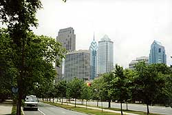 USA, Филадельфия - Небоскрёбы